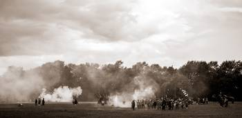 English Civil War Battle