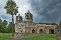 Stormy Skies over Mission Concepcion