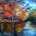 Santa Fe River - Autumn Beauty