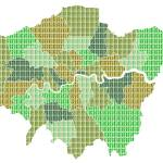 """London Map Green"" by garyhogben"