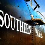 """""""Engine 18 - Southern Pacific Railroad"""" by GlennMcCarthyArtPhoto"""