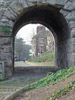 The Iron Bridge, Stone Archway