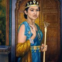 Queen Esther Saving Her People Art Prints & Posters by Lester Yocum