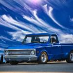 """1969 Chevrolet Fleetside Pickup_HDR"" by FatKatPhotography"