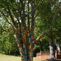 Crochet Tree Art Prints & Posters by MrH - aka mediamode