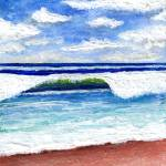 """Seascape Painting Treasure Coast Florida D1"" by Ricardos"