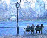 Girls in Central Park, NY