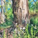 """""""Tree Trunk"""" by KellyEddington"""