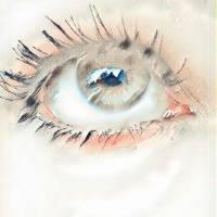 Angel Eye Art Prints & Posters by Britney Spoonemore