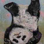 """Panda Headstand"" by creese"