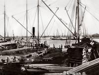 oak_lumbering_ships_pSP by WorldWide Archive