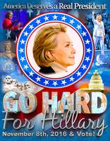 Go Hard for Hillary