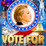"""Vote for Hillary"" by DonThornton"