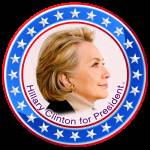 """Hillary Clinton for President"" by DonThornton"