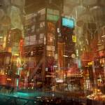 """City Skyline sintextos"" by carlosnct"