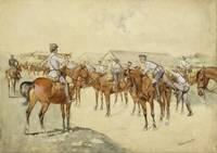 A Call To Arms by Frederic Remington