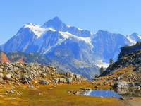The Spectacular Views Of Mount Shuksan