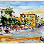 """Summer in Sorrento Amalfi Coast Italy"" by GinetteCallaway"