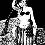 """Cowgirl Patriot-27-4000"" by davegafford"