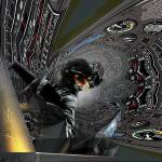 """IN THE TUNNEL with Pilot at Warp Speed 1162f"" by ecolosimo"
