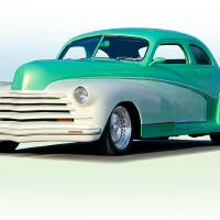 1948 Chevrolet Custom Coupe I Art Prints & Posters by Dave Koontz