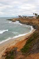 San Diego Sunset Cliffs Cove by Carol Groenen