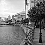 """City Singapore In Monochrome Series"" by sghomedeco"