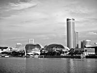 City Singapore In Monochrome Series