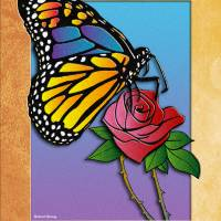 """butterfly rose"" by RichardMurrey"