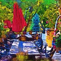Lunch In Wine Country Art Prints & Posters by Kirt Tisdale