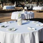 """Outdoor Wedding table"" by Wintercreeks"