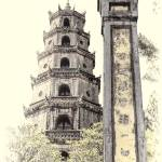 """""""Thiên Mụ Pagoda"""" by PaulCoco"""