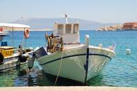 Halki fishing boats, Greece