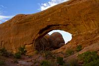 North Arch , The Windows