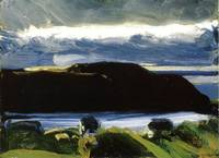 Breaking Sky, Monhegan, (ca. 1916) by George Bello