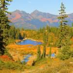 """Bagley Lakes - Mount Baker"" by artsandi"
