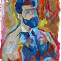 Bear Naked Artist Art Prints & Posters by RD Riccoboni