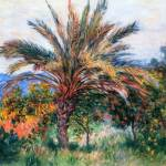 """""""CLAUDE MONET - Palm Tree in Bordighera, 1884"""" by motionage"""