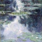 """""""CLAUDE MONET - POND WITH WATER LILIES, 1907"""" by motionage"""