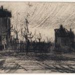"""""""City View Antwerp, December 1885 - January 1886 Vi"""" by motionage"""