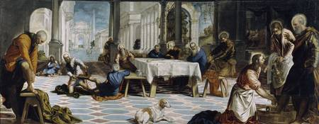 Christ Washing the Disciples' Feet (Tintoretto