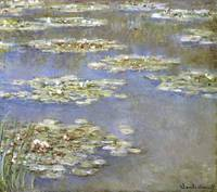 CLAUDE MONET - Nympheas, 1905