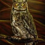 """""""Bubo Owl of Ga"""