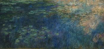 Claude Monet - Reflections of Clouds on the Water-