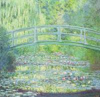 CLAUDE MONET - THE WATERLILY POND WITH THE JAPANES