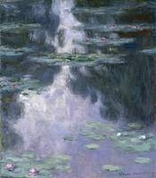 CLAUDE MONET - WATER LILIES (NYMPHEAS), 1907
