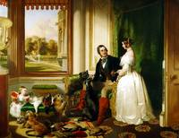 Edwin Landseer , Queen Victoria and her family at