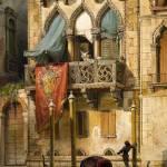 """Friedrich Nerly (1807-1878) venice"" by motionage"
