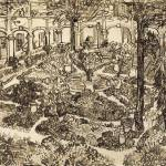 """Garden of the Hospital Arles, May 1889 Vincent van"" by motionage"