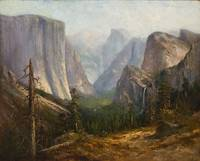 HARRISON FISHER (1875-1934) Yosemite, Near Half Do